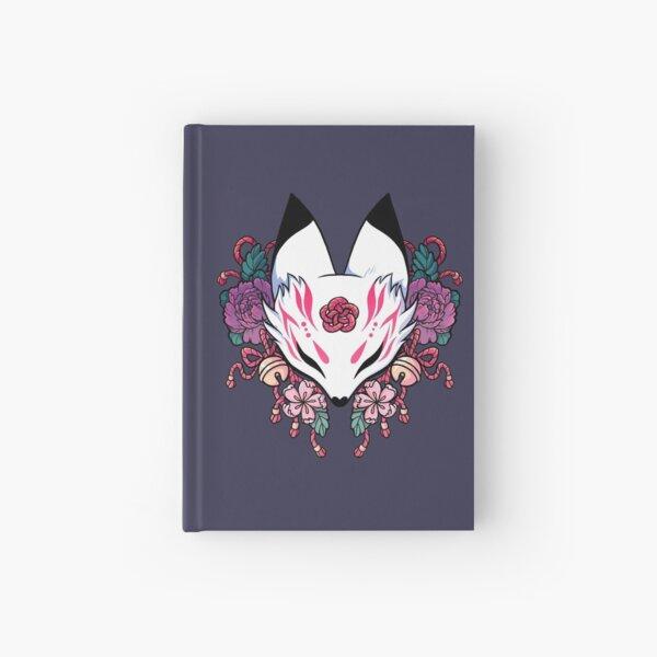 Kitsune espíritu zorro Cuaderno de tapa dura