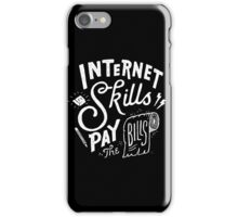 Pay the Bills iPhone Case/Skin