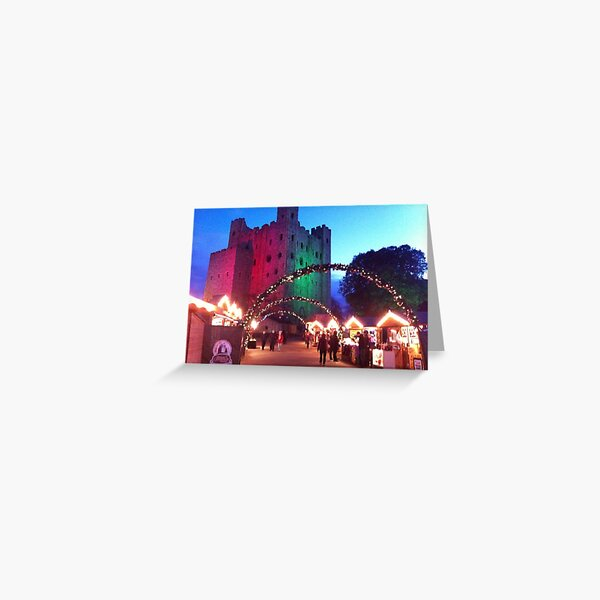 Christmas Castle Greeting Card