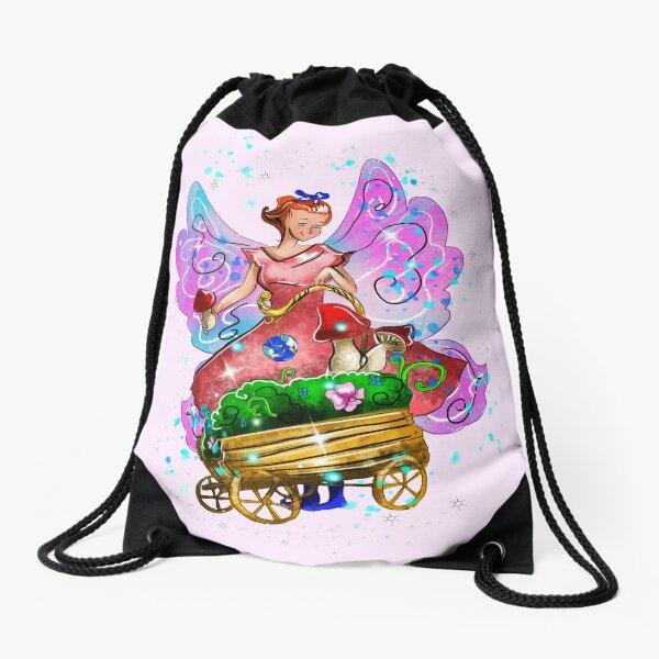 Wagonia The Wheelbarrows and Wagons Fairy™ Drawstring Bag