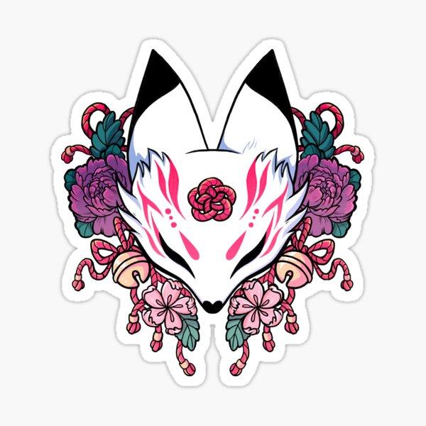 Fox Spirit Kitsune Sticker