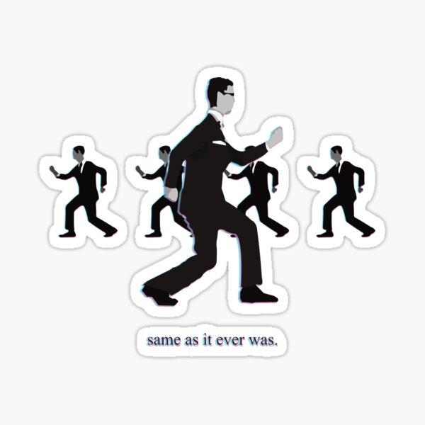 Talking Heads Sticker