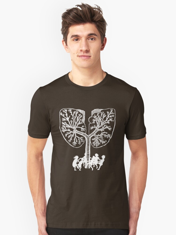Lung Tree Unisex T-Shirt Front