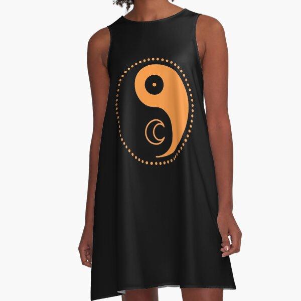 The Principle of Gender - Shee Symbol A-Line Dress