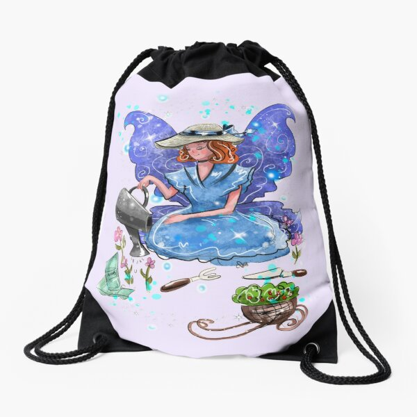 Watrina The Watering Can, Tool And Flowerpot Fairy™ Drawstring Bag
