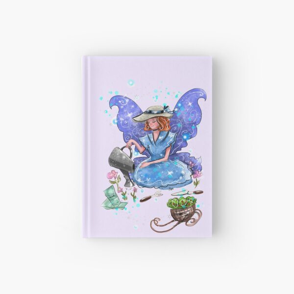 Watrina The Watering Can, Tool And Flowerpot Fairy™ Hardcover Journal