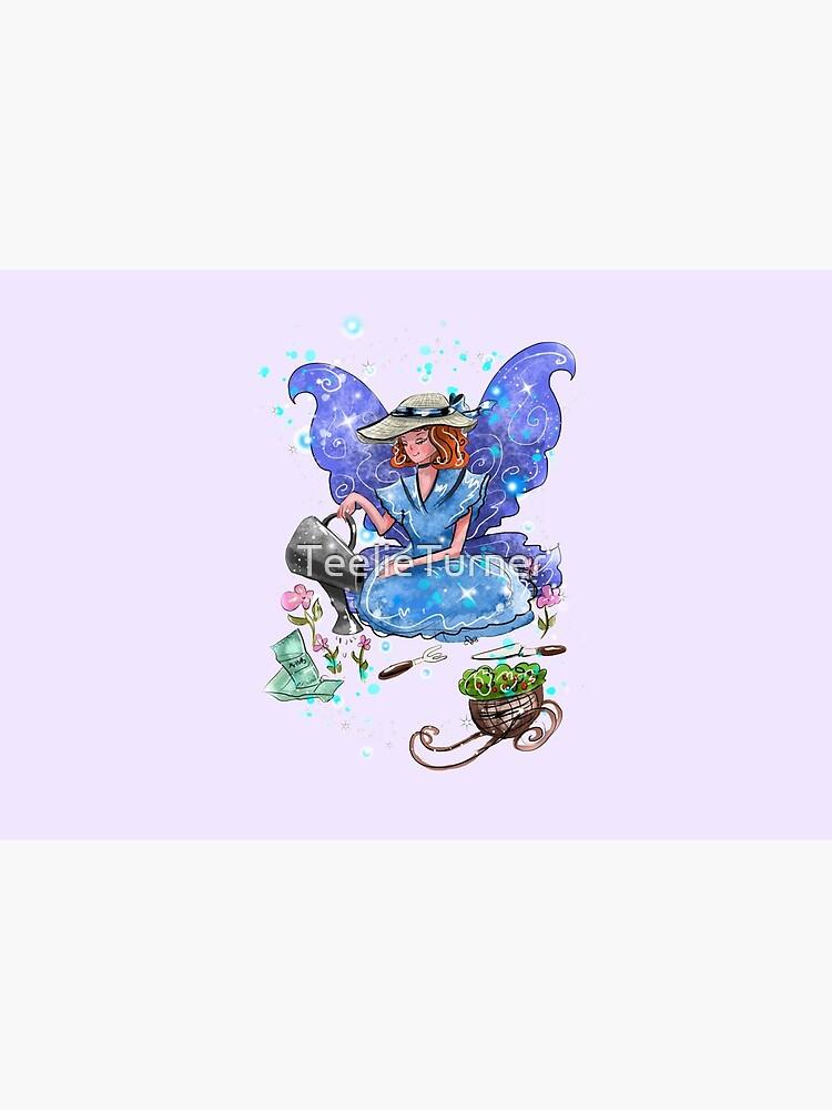 Watrina The Watering Can, Tool And Flowerpot Fairy™ by TeelieTurner