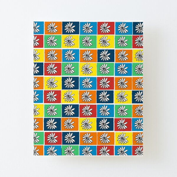 Flowers everywhere  Canvas Mounted Print