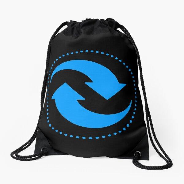 The Principle of Cause & Effect - Shee Symbol Drawstring Bag
