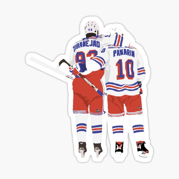 Mika zibanejad and Artemi Panarin Sticker
