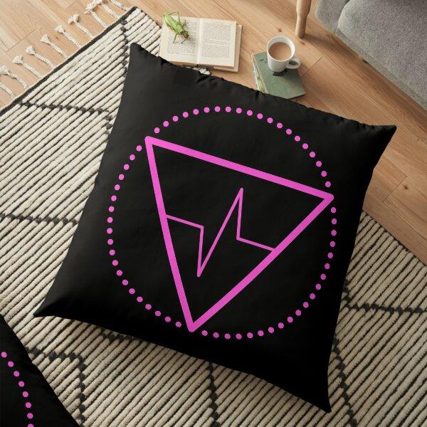 The Principle of Rhythm - Shee Symbol Floor Pillow