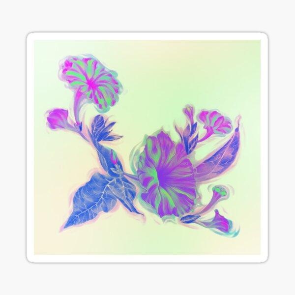 4oclock Flowers Sticker