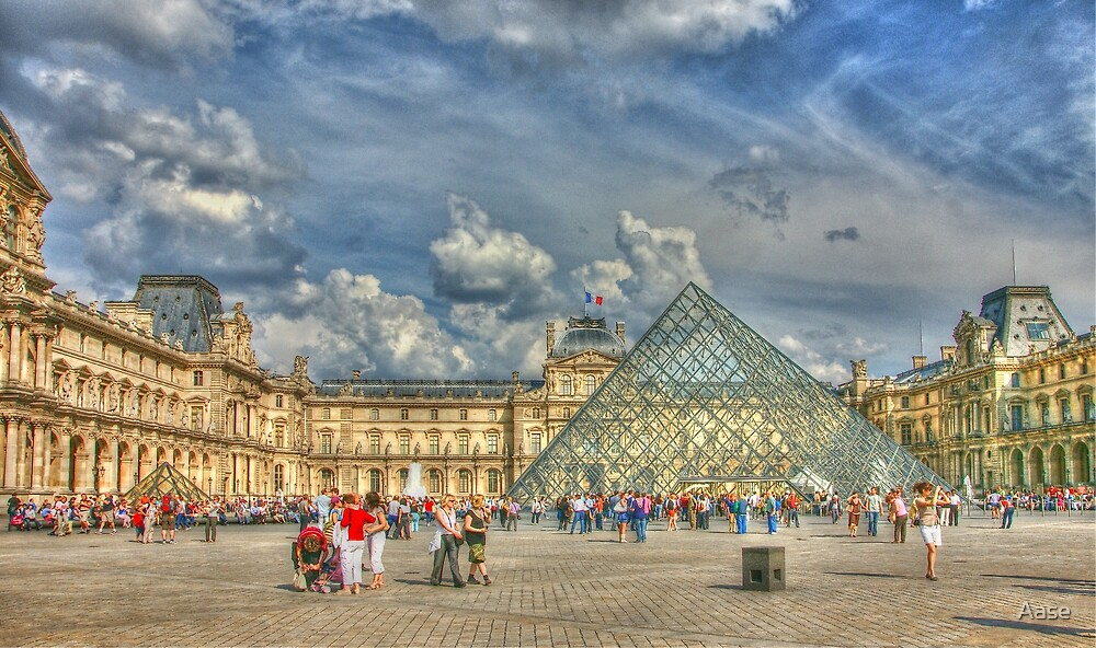 Louvre. Paris by Aase