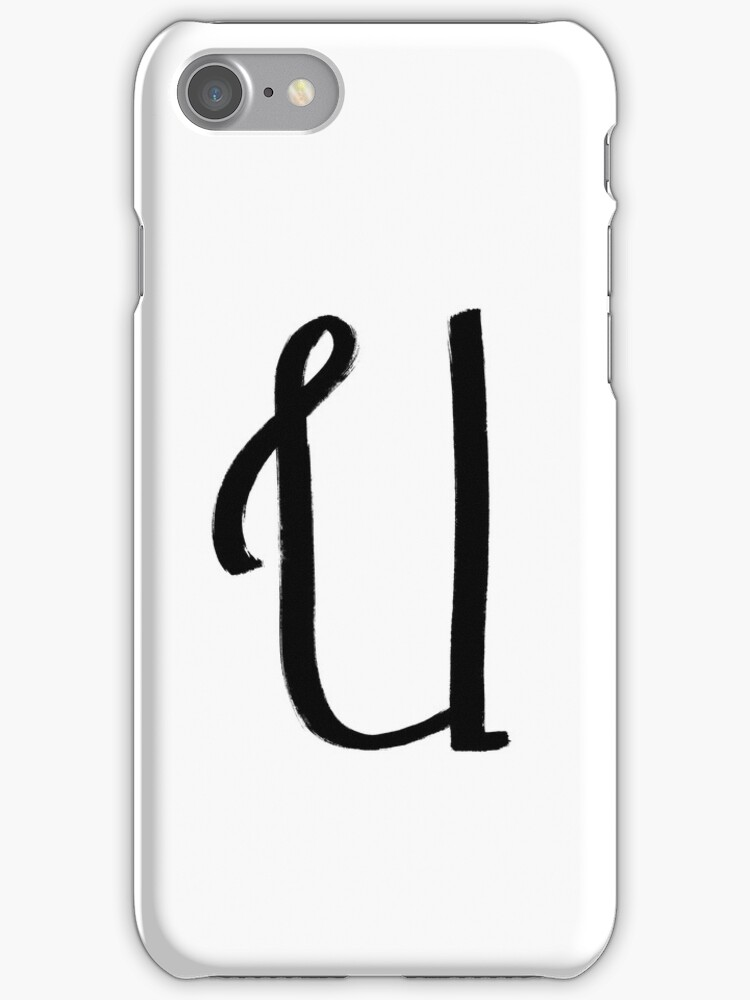 The Letter U by alphabeautiful