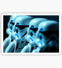 Lego Storm Troopers Sticker