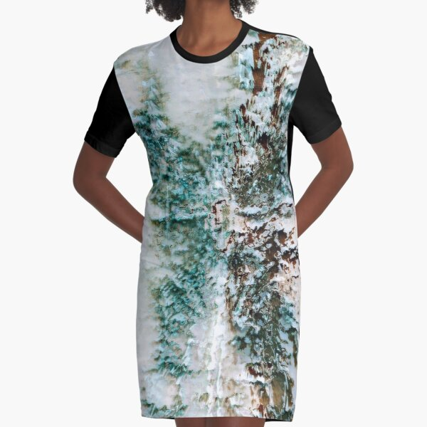 Abstract Digital Untitled  Graphic T-Shirt Dress