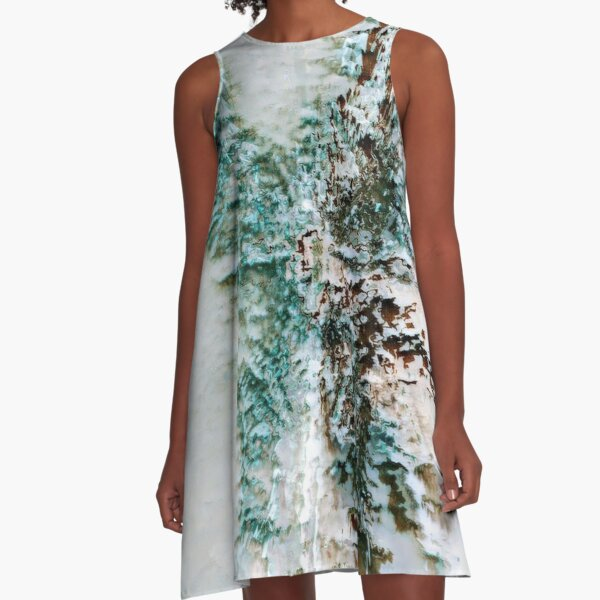 Abstract Digital Untitled  A-Line Dress