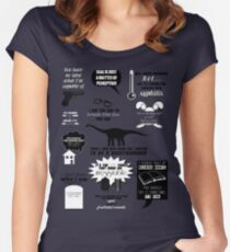 Peter Bishop Quotes Women's Fitted Scoop T-Shirt