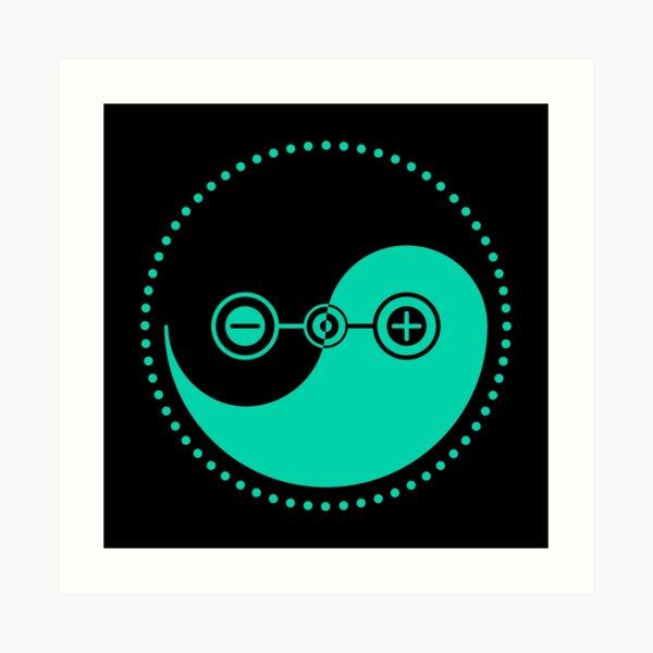 The Principle of Polarity - Shee Symbol Art Print