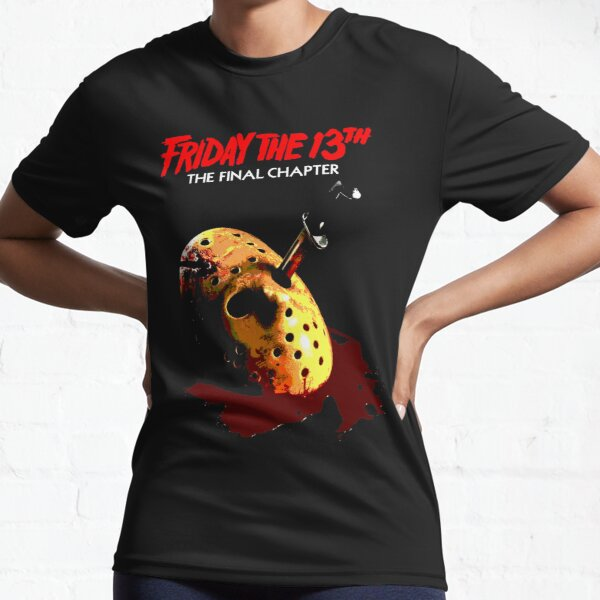 Friday the 13th: The Final Chapter Active T-Shirt