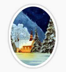 Yosemite Valley Chapel Sticker