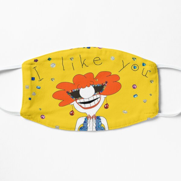 I Like You Flat Mask