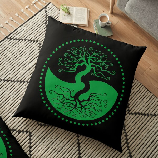 The Principle of Correspondence - Shee Symbol Floor Pillow