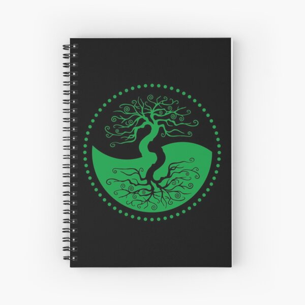 The Principle of Correspondence - Shee Symbol Spiral Notebook