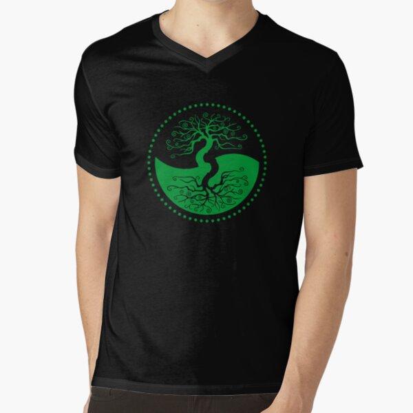 The Principle of Correspondence - Shee Symbol V-Neck T-Shirt