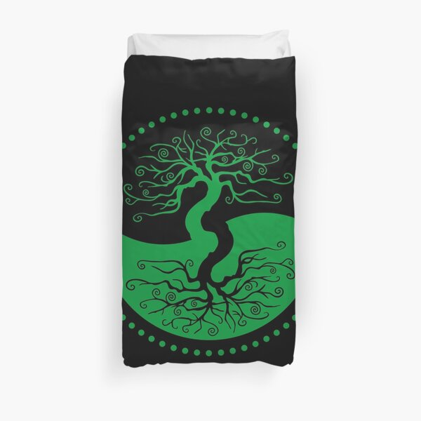The Principle of Correspondence - Shee Symbol Duvet Cover