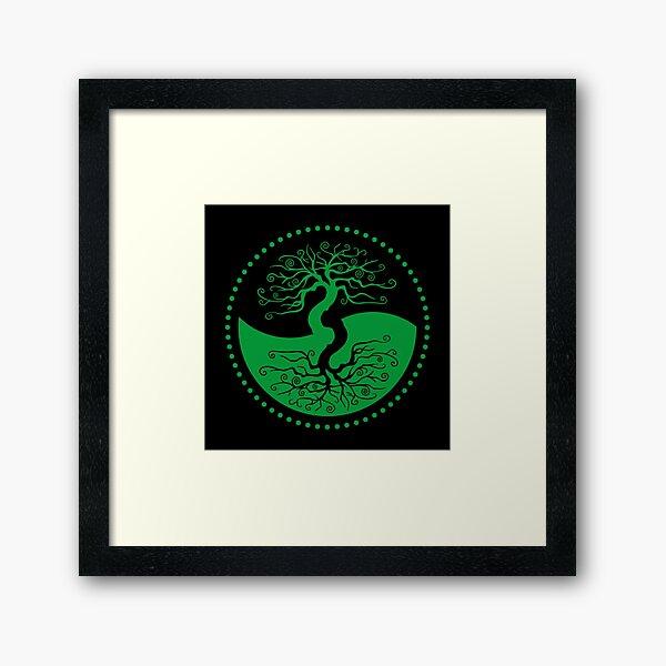 The Principle of Correspondence - Shee Symbol Framed Art Print