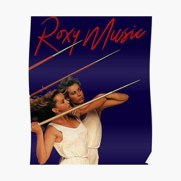 Roxy Music Poster