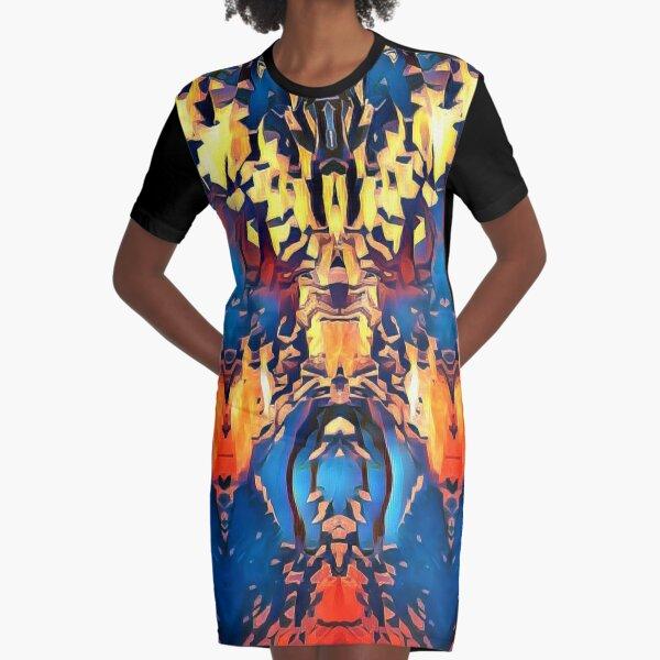 Metropolitan  Graphic T-Shirt Dress