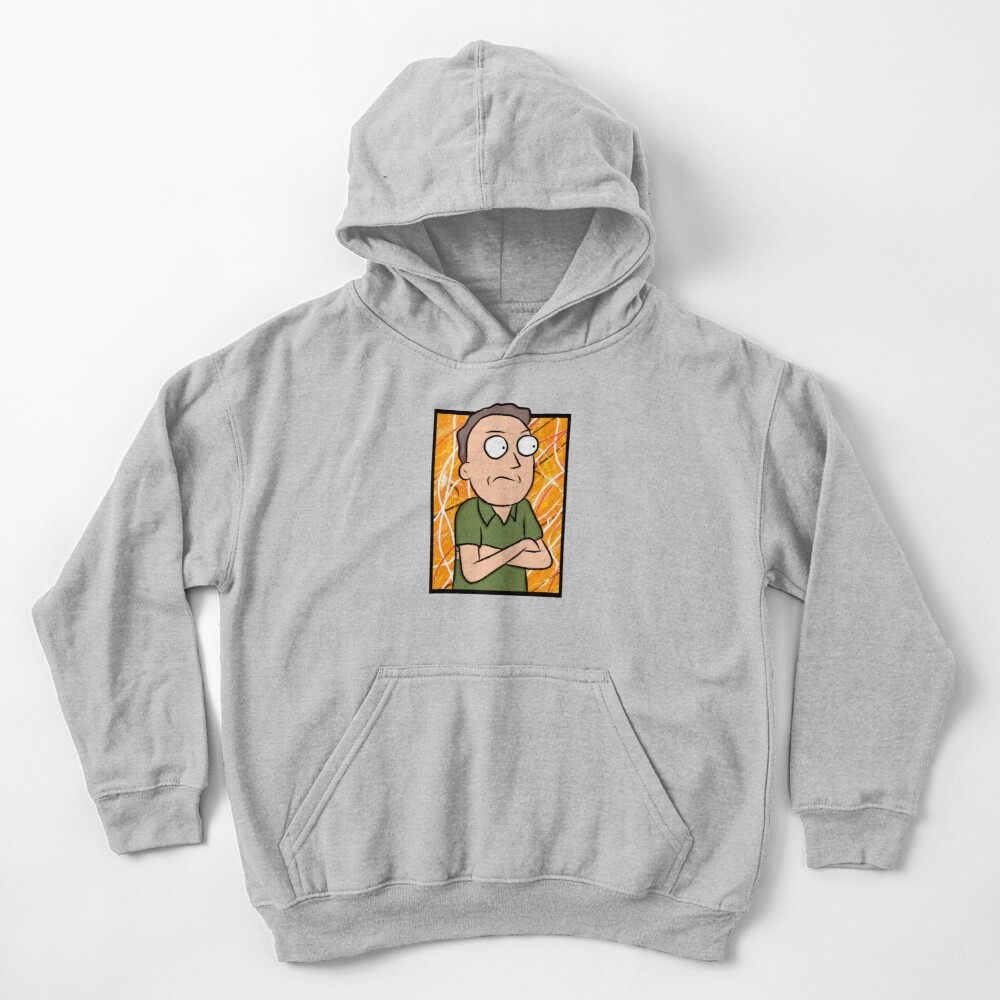 Jerry Smith - Rick and Morty Kids Pullover Hoodie