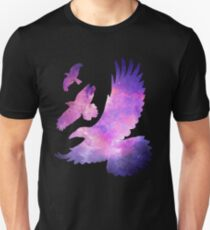 Divergent Raven Tattoo Galaxy T-Shirt