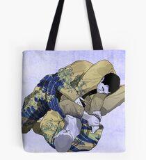 The Ground is my Ocean blue Tote Bag