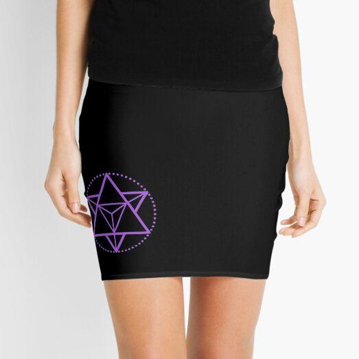 The Principle of Mentalism - Shee Symbol Mini Skirt