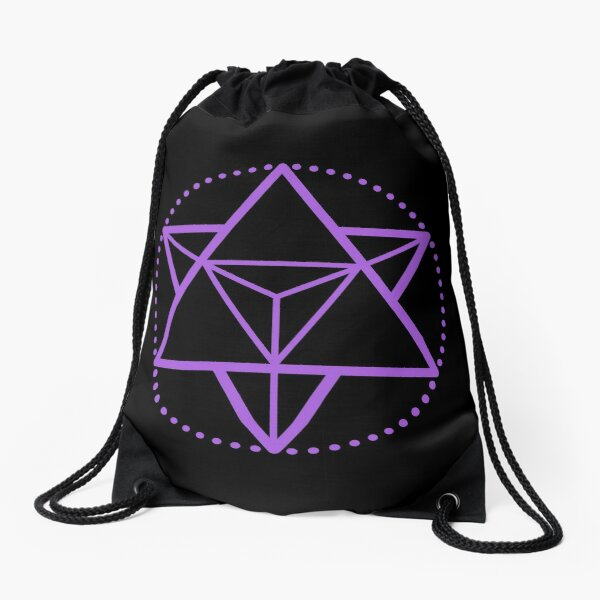 The Principle of Mentalism - Shee Symbol Drawstring Bag