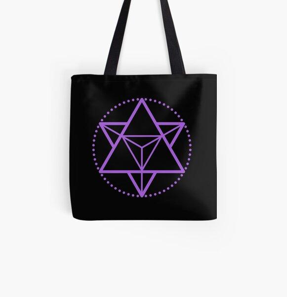 The Principle of Mentalism - Shee Symbol All Over Print Tote Bag