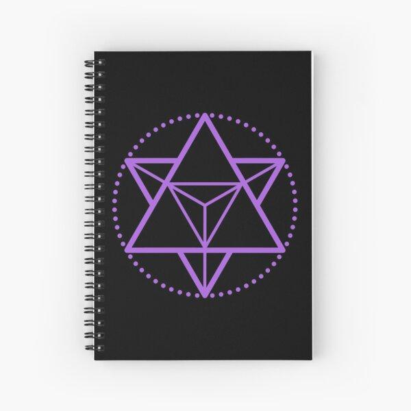 The Principle of Mentalism - Shee Symbol Spiral Notebook