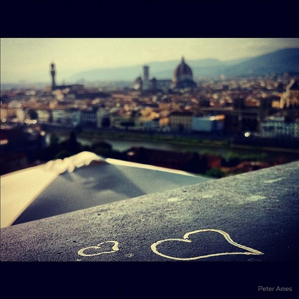 The Heart Of Florence by Peter Ames