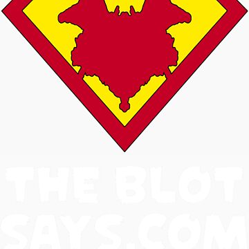 The Blot Shield (White) by TheBlotSays