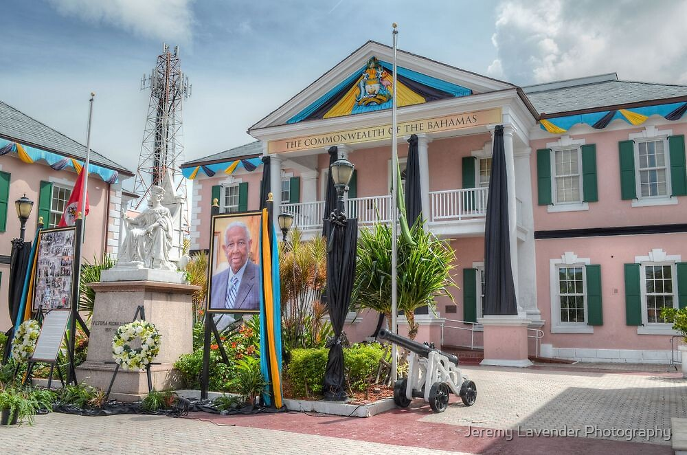 Parliament House in Rawson Square - Nassau, The Bahamas by Jeremy Lavender Photography