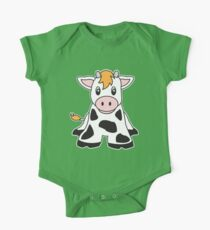 cute cow One Piece - Short Sleeve