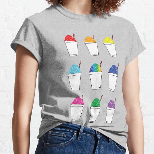 Sweet Snoballs Rainbow Colour Colorful Travel New Orleans Nola Louisiana Spring Summer Classic T-Shirt