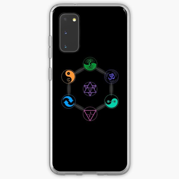 The 7 Universal Principles of Alchemy - Shee Symbols Samsung Galaxy Soft Case