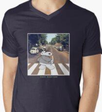 Chicot the Hippo, Classic Album - Shabby Lane Mens V-Neck T-Shirt