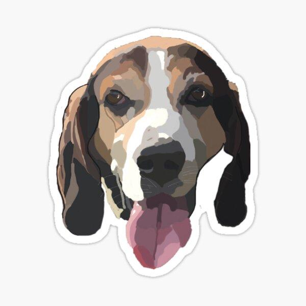 Treeing walker coonhound  Sticker