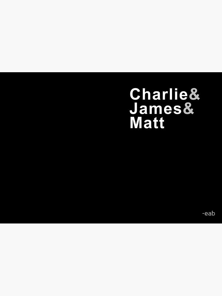 Charlie & James & Matt by -eab