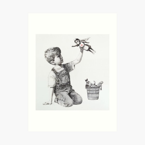 Game Changer - Banksy Art Print